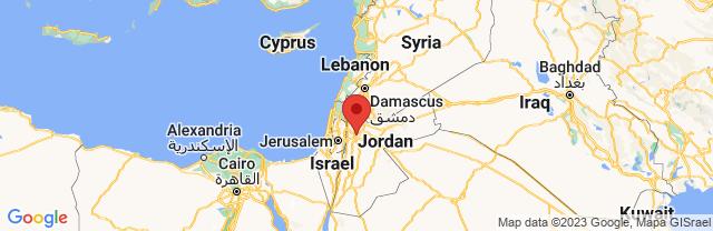 Landkaart Amman