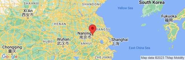 Landkaart Nanjing