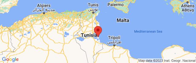 Landkaart Djerba