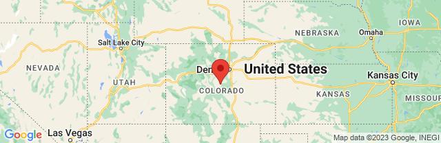 Landkaart Colorado