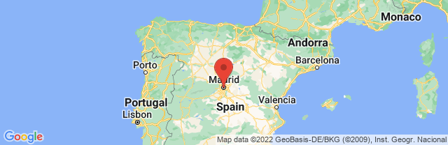 Landkaart Madrid