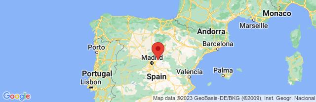Landkaart Guadalajara