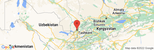 Landkaart Tasjkent