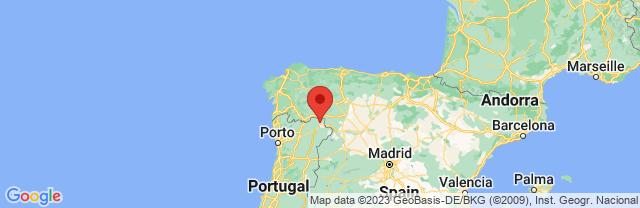 Landkaart Bragança