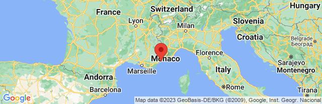 Landkaart Cannes