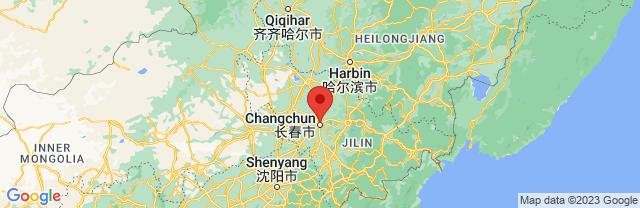 Landkaart Changchun