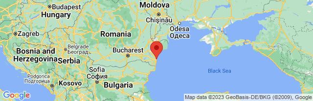 Landkaart Constanta