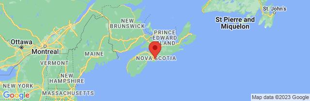 Landkaart Halifax