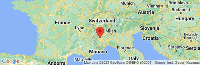 Landkaart Turijn