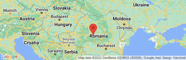 Landkaart Sibiu