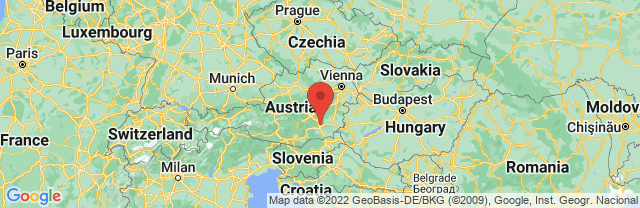 Landkaart Graz