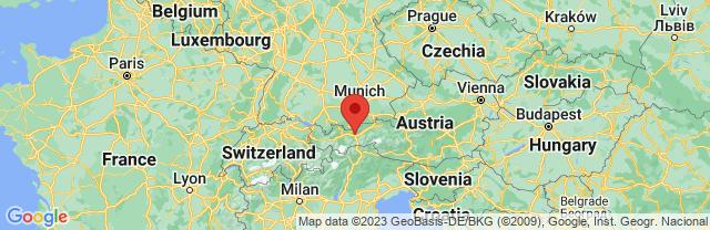 Landkaart Innsbruck