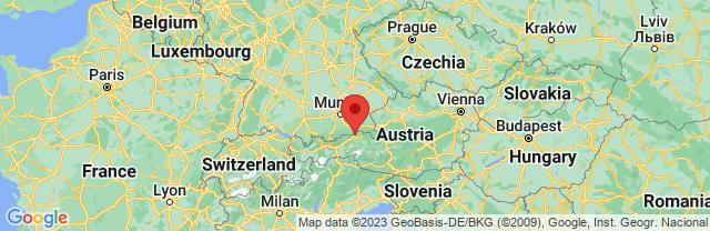 Landkaart Kufstein