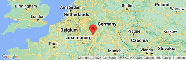 Landkaart Mainz
