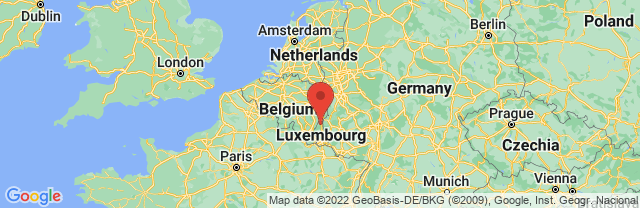 Landkaart Clervaux