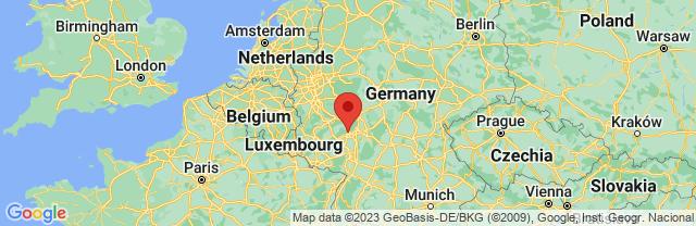 Landkaart Wiesbaden