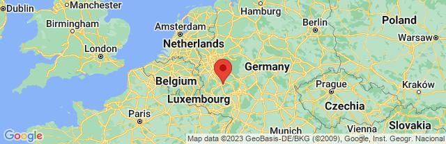 Landkaart Koblenz