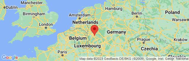 Landkaart Bonn