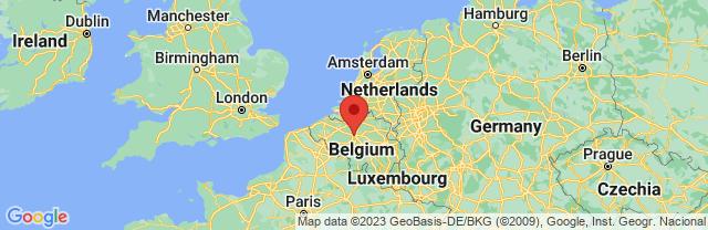 Landkaart Brussel