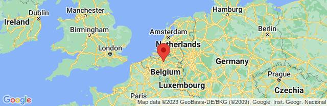 Landkaart Mechelen
