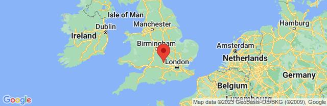 Landkaart Oxford