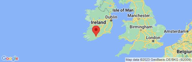 Landkaart Cork