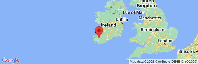 Landkaart Killarney
