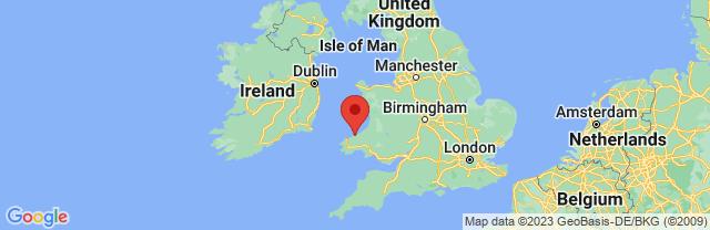 Landkaart Cardigan