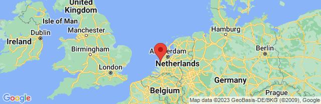 Landkaart Scheveningen