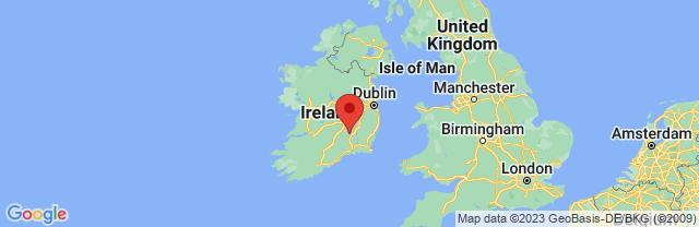 Landkaart Kilkenny