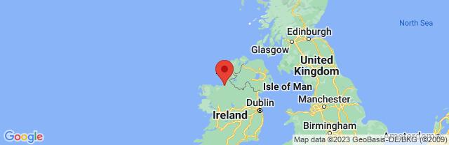 Landkaart Sligo