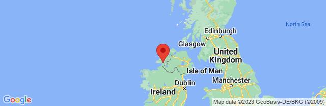 Landkaart Donegal