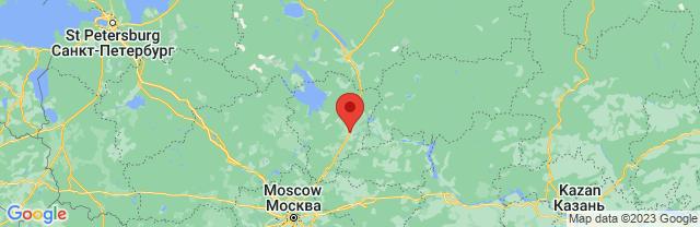 Landkaart Yaroslavl