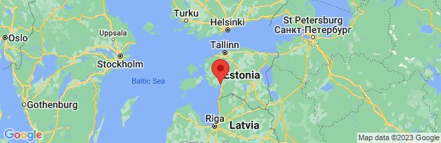 Landkaart Pärnu