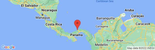 Landkaart Colón