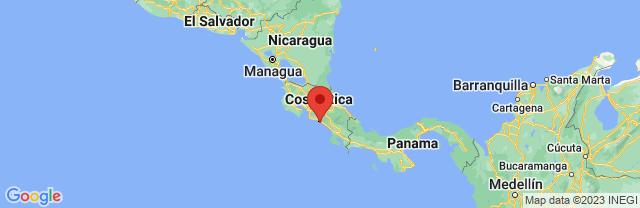 Landkaart Manuel Antonio