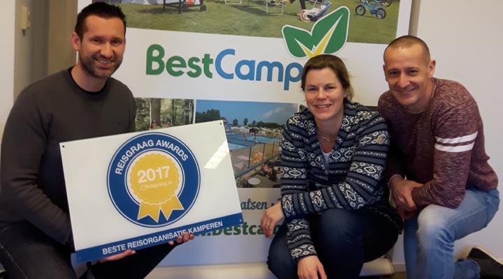 BestCamp met de Reisgraag Award 2017