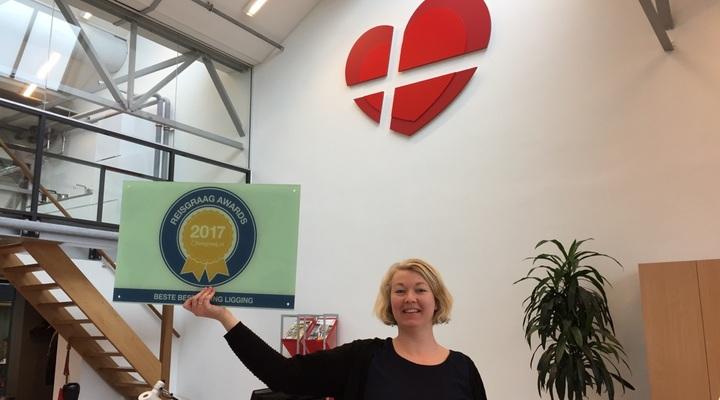 Verkeersbureau Denemarken met de Reisgraag Award