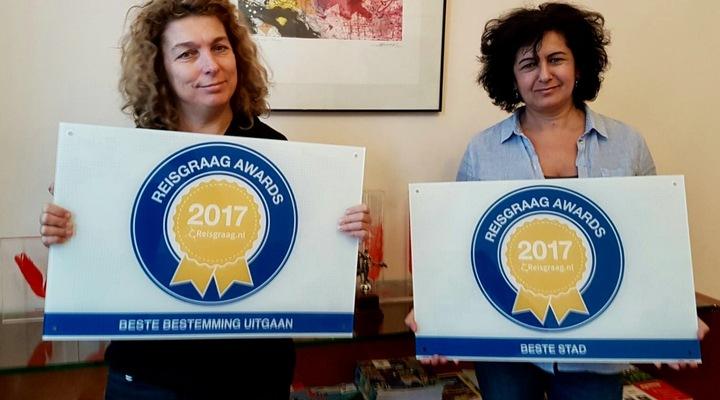 Het Spaans Verkeersbureau met de Reisgraag Awards