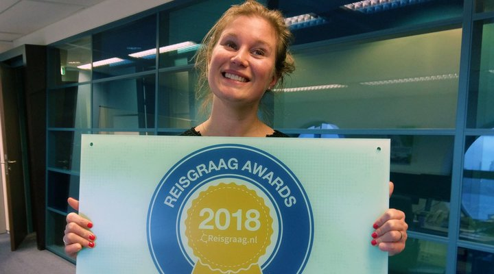 DFDS Seaway wint Reisgraag Award 2018