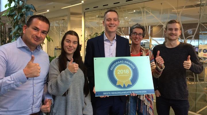 FOX, verre reizen van ANWB wint Reisgraag Award 20