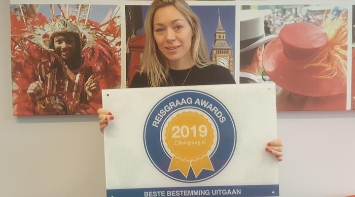 Engeland wint de Reisgraag Award