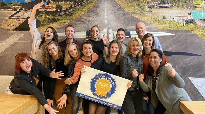 Team Estivant met Reisgraag Award