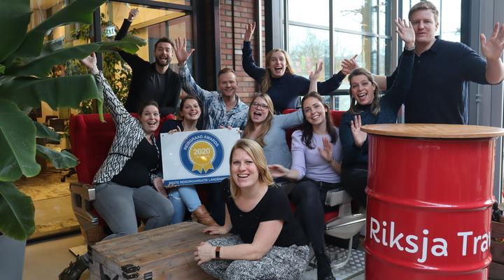 Team Riksja met Reisgraag Award
