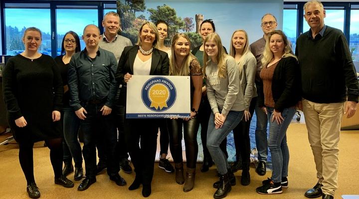 Team Solmar met Reisgraag Award