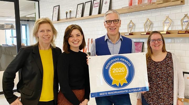 Team Sunny Cars met Reisgraag Award