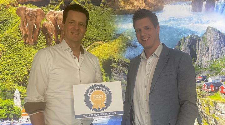 Team Bolderman Excursiereizen met Reisgraag Award