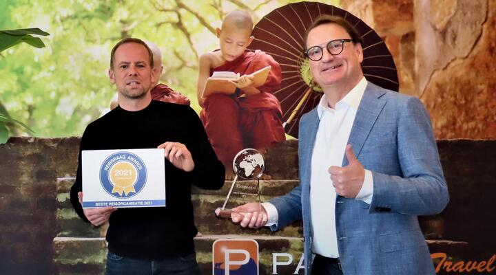 Team Pangea Travel met Reisgraag Award