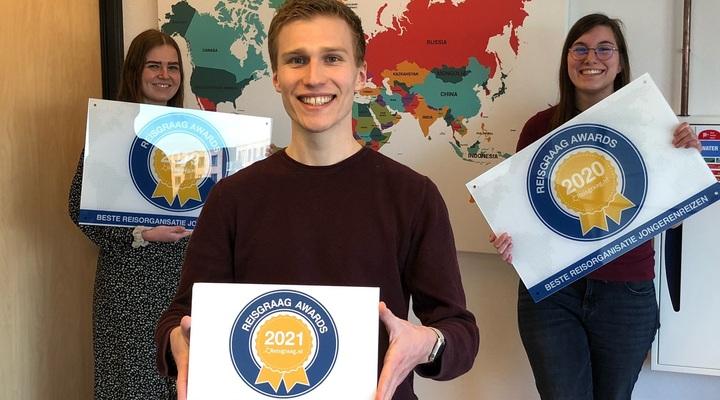 Team Simi Reizen met Reisgraag Award
