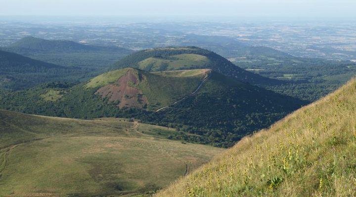 Vulkanen in Auvergne